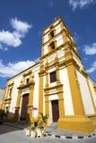 Nuestra Senora de la Soledad Church. Nuestra Senora de la Soledad Church in Camagüey, Cuba. It was built during the 18th century and today is the building stock photography
