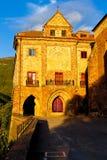 Nuestra Senora de Valvanera Monastery, La Rioja, Spagna fotografia stock libera da diritti