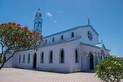 Nuestra Sra de Lourdes kościół zdjęcia royalty free