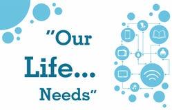 Nuestras necesidades de la vida Fotografía de archivo