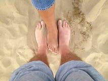 Nuestras piernas Foto de archivo libre de regalías