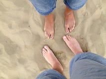 Nuestras piernas Fotos de archivo libres de regalías
