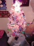 Nuestro árbol de navidad Fotos de archivo libres de regalías