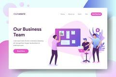Nuestro equipo del negocio libre illustration