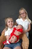 Nuestro hermano del bebé fotografía de archivo libre de regalías