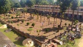 Nuestro jardín del instituto Imagen de archivo libre de regalías