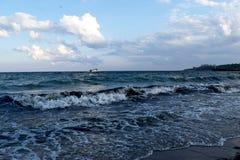 Nuestro mar hermoso preferido de Odessa fotos de archivo