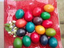 Nuestros huevos de Pascua en 2013 imágenes de archivo libres de regalías