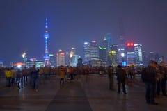 Nueva área de Shanghai Pudong Imagen de archivo libre de regalías