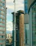 Nueva alta construcción de la subida Fotografía de archivo libre de regalías