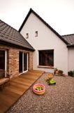 Nueva arquitectura del diseño de la casa vieja imagen de archivo libre de regalías