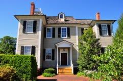 Nueva Berna, NC: Casa 1835 de Dixon Foto de archivo