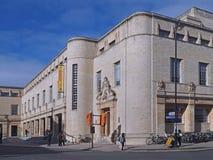 Nueva biblioteca de Universidad de Oxford imágenes de archivo libres de regalías