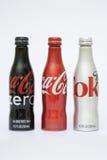 Nueva botella de la Coca-Cola Imagen de archivo libre de regalías