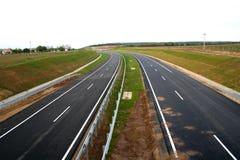 Nueva carretera foto de archivo