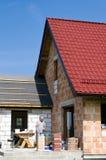 Nueva casa Imagen de archivo libre de regalías