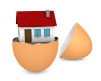 Nueva casa stock de ilustración