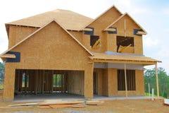 Nueva casa/construcción imagen de archivo