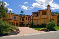 Nueva casa hermosa Foto de archivo libre de regalías