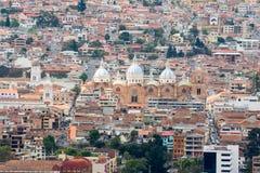 Nueva catedral de Cuenca, Ecuador Imágenes de archivo libres de regalías