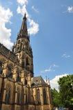 Nueva catedral en Linz, Austria imagen de archivo