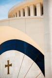 Nueva catedral ortodoxa de Tirana Fotos de archivo libres de regalías