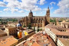 Nueva catedral Salamanca Fotografía de archivo