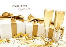 Nueva celebración de los year´s Imagen de archivo libre de regalías