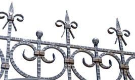Nueva cerca del hierro Fotografía de archivo libre de regalías