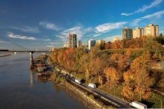 Nueva ciudad de Westminster en el otoño Fotos de archivo