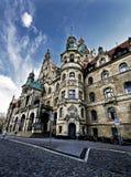 Nueva ciudad Hall Neues Rathaus de Hannover, Alemania fotos de archivo