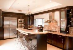 Nueva cocina hermosa Foto de archivo