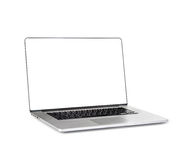 Nueva computadora portátil Foto de archivo libre de regalías