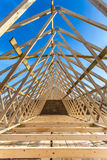 Nueva construcción casera Fotografía de archivo libre de regalías