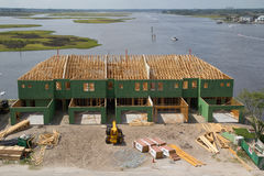 Nueva construcción casera Imagen de archivo