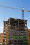 Nueva construcción de edificios comercial moderna Imagen de archivo libre de regalías