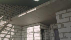 Nueva construcción limpia del desván metrajes
