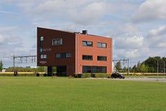 Nueva construcción moderna en Hoogeveen Imágenes de archivo libres de regalías