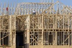 Nueva construcción Foto de archivo