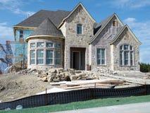 Nueva construcción casera Foto de archivo