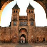 Nueva de Bisabra gate, Toledo (Spain) Royalty Free Stock Photography