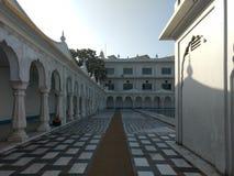 NUEVA DELI, la INDIA - 18 de abril de 2019, Nanak Piao Sahib, Gurdwara, m?rmol imagen de archivo
