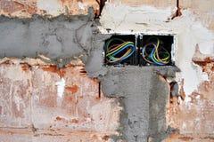 Nueva electricidad Imagen de archivo libre de regalías