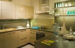 Nueva escala moderna 13 de la cocina Fotos de archivo libres de regalías
