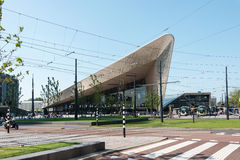 Nueva estación de la central de Rotterdam del sation de la estructura Imagen de archivo