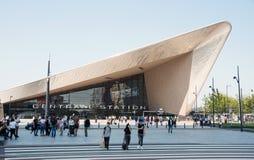 Nueva estación de la central de Rotterdam del sation de la estructura Imagenes de archivo