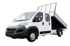 Nueva furgoneta de la recogida de la entrega fotos de archivo libres de regalías