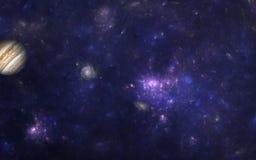 Nueva galaxia Fotografía de archivo libre de regalías