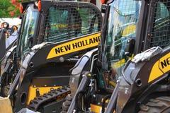 Nueva Holland Farm Equipment Imágenes de archivo libres de regalías