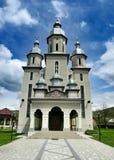 Nueva iglesia en Maramures Fotos de archivo libres de regalías